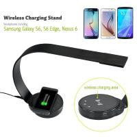 Buy cheap New design ABS modern elegant office desk lamp led with QI wireless charge USB port 5 level brightness from wholesalers