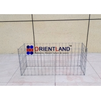 Buy cheap Square HOLE 50×100mm 4.5mm Gabion Planter Boxes from wholesalers