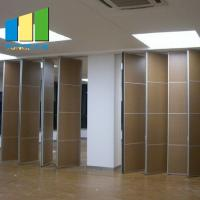 Quality Sliding Folding Partition Walls For Restaurant Dining Room Office Customized Color for sale