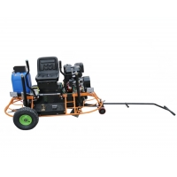Quality 13HP Ride On Concrete Trowel Machine With 350x150mm Blade for sale