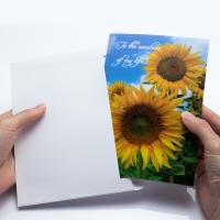 China Holiday Celebration Thank You 3D Lenticular Greeting Card CMYK Printing on sale