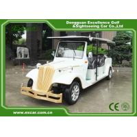 Quality EXCAR 8 Passenger Electric Classic Cars 72V Battery Electric Vintage Car for sale