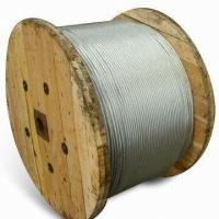 Quality Extra high tensile stress galvanized steel wires strand for sale