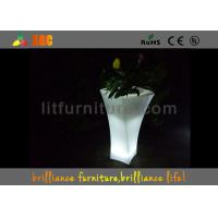 Quality Banquet Hall Remote Control LED Flower Pot With Lithium Battery for sale