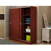 China Custom Tall Wood Storage Cabinets With Doors And Shelves , Horizontal File Storage Cupboards on sale