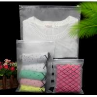 Quality high quality custom printed cloths matte cheap wholesale clear PVC zipper bag for sale