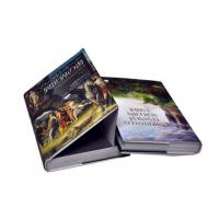 Quality Professional Hardcover Book Printing Services / Hardback Cook Book Printing for sale
