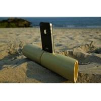 China Acoustic natural bamboo Amplifier Speaker, phone loudspeaker, bamboo loudspeaker on sale