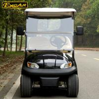 Quality Most Popular 2 Seats Electric Golf Carts With Cloak , 100 Waterproof Accelerator for sale