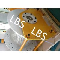 Quality Electric / Hydraulic Windlass Winch , Combined Marine Mooring Winch With Lebus Grooving for sale