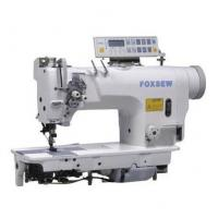 Quality Computer-controlled Direct Drive Fixed Needle Bar Double Needle Lockstitch Sewing Machine for sale