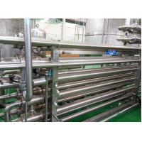 Buy 143℃ SUS316L High Temperature Sterilizer Tubular UHT Pasteurizer 3mm Thick at wholesale prices