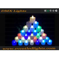 Best Decoration Plastic Color Changing Led Flameless Candles , Remote Control wholesale