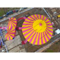 Quality Red Yellow Roof Cover Outdoor Circus Tents for sale