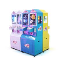 Quality 2 Players Mini Prize Vending Machine Durable Interesting With Colorful Joystick for sale