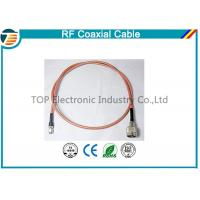 Quality Brass Antenna Jump Pigtail RF Coaxial Cable with TNC Connector for sale