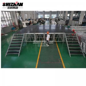 Quality Modular Assembly Acrylic Stage Platform 0.6m 1.1m Height for sale