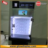 Best LCD screen and led lighting acrylic wood flooring BEX sunglasses display stand wholesale