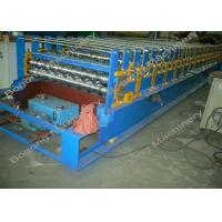 Quality Steel Roof Panel Double Layer Roll Forming Machine With Cr12 Cutting Blade for sale