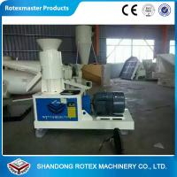 China Wheat Straw Flat Die Wood Pellet Machine To Produce Fuel Pellet For Biomass Boiler on sale