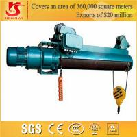 Quality Crane hometown remote control double speed cheap wire rope electric hoist price for sale