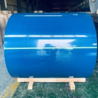 Quality 3003 3105 PE PVDF Painted Aluminum Coil Color Coated ASTM B209 for sale