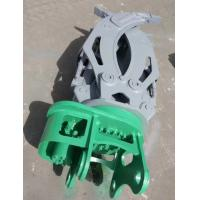 Quality Hydraulic Rotating Grapple Attachment For Excavator Rotating Log / Rock / Steel Grapple for sale