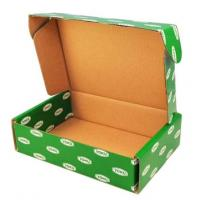 Quality Printed Cardboard Boxes With Lids , Fruit Packing Boxes FSC SGS Certificate for sale