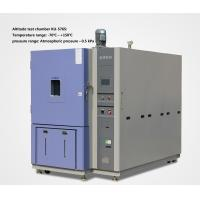 Quality Simulate Rapid Pressure Change Humidity Temperature Altitude Simulation Test Chamber for sale