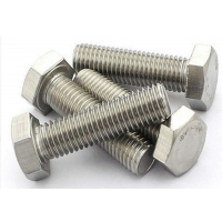 Quality 24inch Length 12.9 Grade M8 45mm Screw , A193 Stainless Steel Hex Head Screws for sale