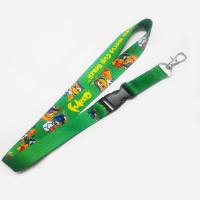 Best Factory direct promotional jacquard logo woven lanyard straps wholesale
