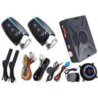 China Intelligent Auto Engine Car Alarm System With RFID Emergency Unlock And Remote Start Feature on sale