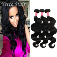 Quality Natural Color 6A Virgin Hair Indian Body Wave Hair Extensions Large Stock for sale