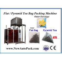 Quality PLA tea bag packing machine with outer envelope for Vietnamemse Leaf Tea for sale