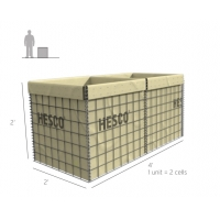 Buy cheap 4mm Immediate Flood Control Hesco Defensive Barriers from wholesalers