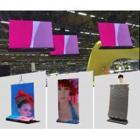 Best Onumen P6 1R1G1B Ultra Thin Video transparent led display screen Great waterproof  27778 Pixel / M² For Rental wholesale