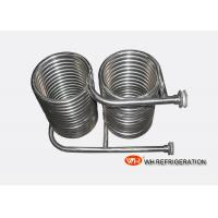 Quality Seamless 316L Stainless Steel Coil Heat Exchanger OD 25 MM Tube Spiral Type for sale