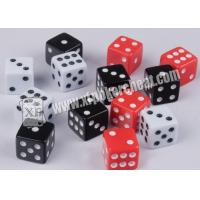 Quality White And Black Magic Dice Set Magic Remote Control Dice For Dice Gamle for sale