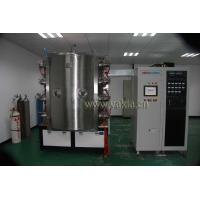 Buy Zirconium Nitride Gold Coatings / Copper Faucets PVD Coating Equipment / ZrN Gold Vacuum Plating Machine at wholesale prices