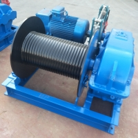 Quality Heavy Duty Steel 650KN 10t Industrial Electric Winch For Boats for sale