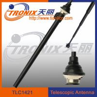 Best 4 sections white mast telescopic car antenna/ car am fm radio antenna TLC1421 wholesale