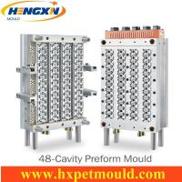 Quality 48 cavity PET preform mold with hot runner for sale