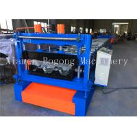 Quality Custom Design Floor Deck Roll Forming Machine Cr12 Cutting Blade Material PLC Control System for sale