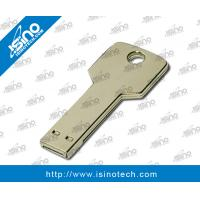 Best Promotional Key USB,2GB/ 4GB/8 8G Free Laser Logo usb Key Shape Metal USB key support Customized logo promotional item wholesale