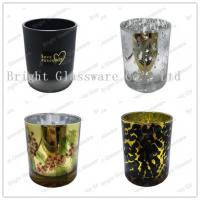 Best plated glass candle holders for weddings wholesale