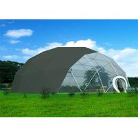 Quality Anti - Rust  Geodesic Dome Tent Durable High Strength Q235 Steel Structure for sale