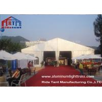 China 20x60m Heavy Duty Outdoor Canopy Tent Exhibition Event Marquee Foldable Roof on sale