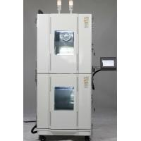 Quality Dual Chamber Type Custom Design Space Saving  Stackable Temperature Humidity Test Chamber for sale