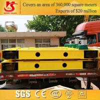 Quality 32 ton single girder overhead crane main girder and crane end carriage for sale