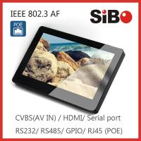 Best Room Booking System 7 Inch IPS Wall Mount Android Touch Panel With POE WIFI wholesale